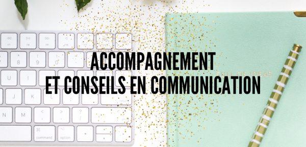 Accompagnement et conseils en communication