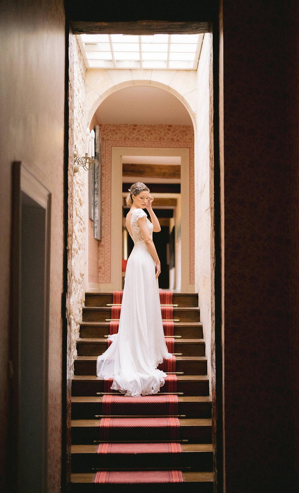 Portrait de Mélissa Wilpotte, destination wedding planner / Interview Wedding by Fabiola / Photo Vincent Almouzni